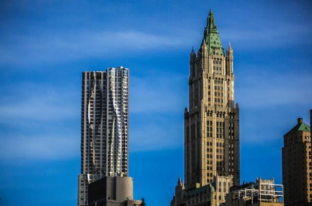 19. США, Нью-Йорк, Бикмен Тауэр и здание Woolworths Именно эти здания являются отличнейшим примером