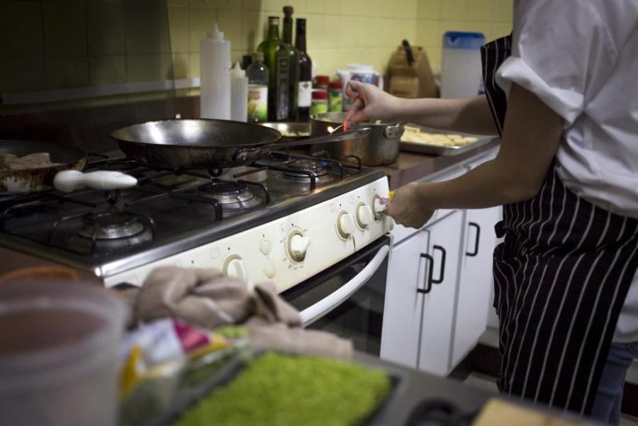 5. Шеф-повар Ана на кухне ресторана «Ciboulette Prive» в Каракасе.