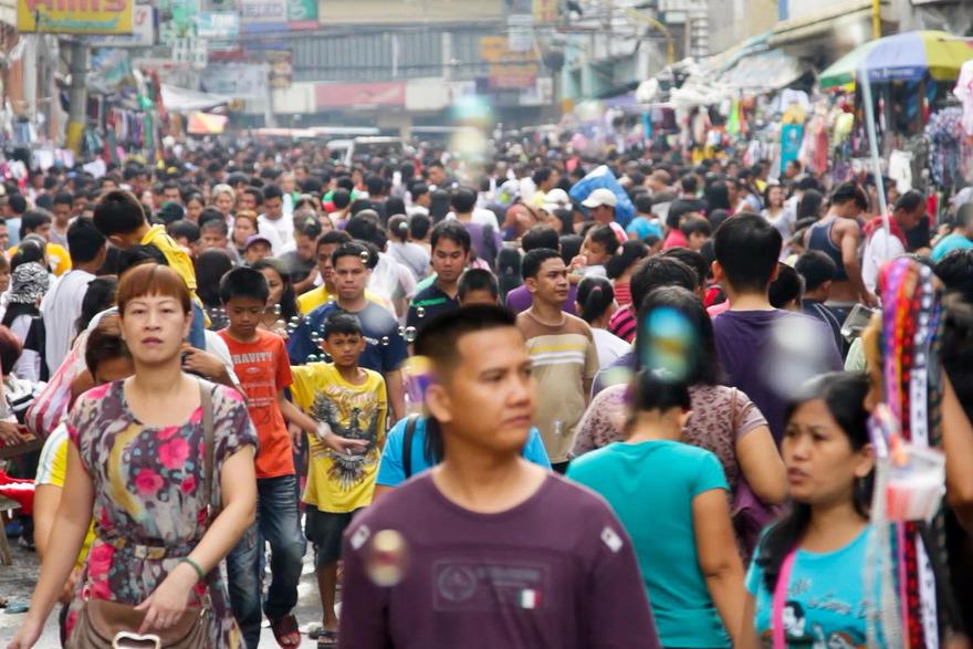 10. Самый переполненный город – Манила, Филиппины В этом городе примерно в 4 раза больше людей, чем