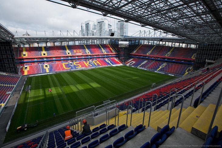 Арена ЦСКА (28 фото)