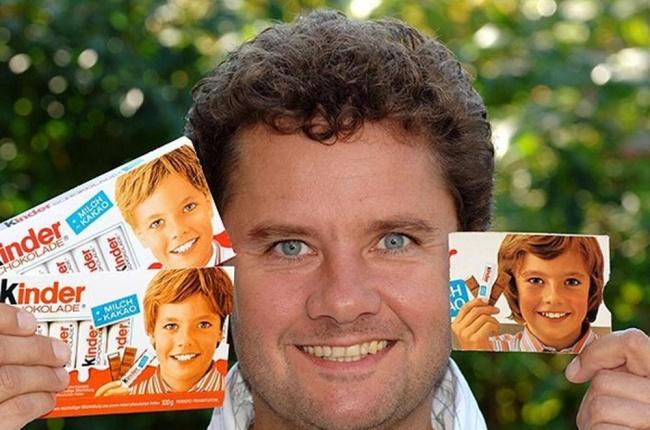 © facebook.com  Гюнтер Эурингер ( Gunter Euringer ) был лицом Kinder Chocolate с1973 по2005
