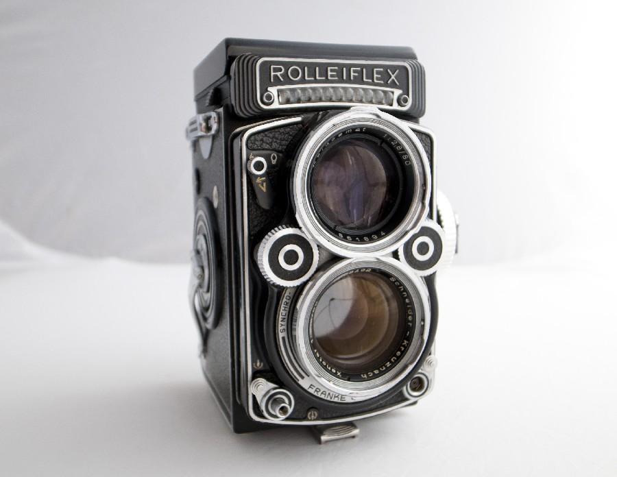 5. Рена Эффенди, Rolleiflex TLR Рена Эффенди является членом клуба «двуглазых». Эти камеры могут пок