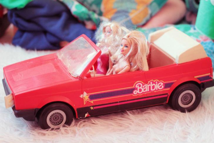 После дома для Барби машина была второй самой заветной мечтой девочек.