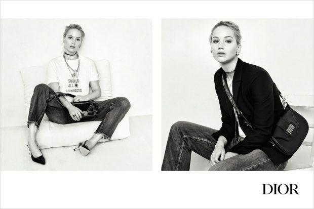 Дженнифер Лоуренс в рекламе Christian Dior