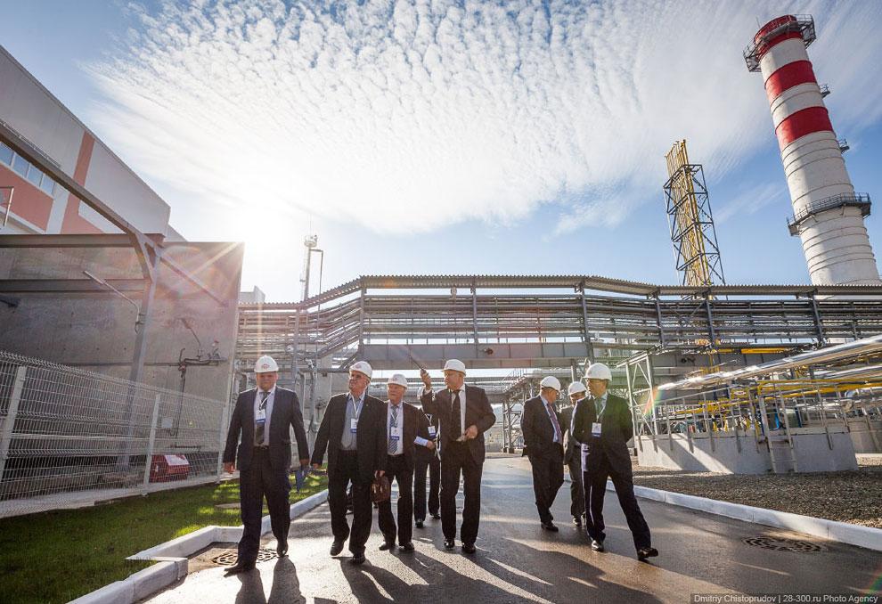Всего на новой станции будет работать чуть более ста сотрудников. ТЭС должна покрыть более четв