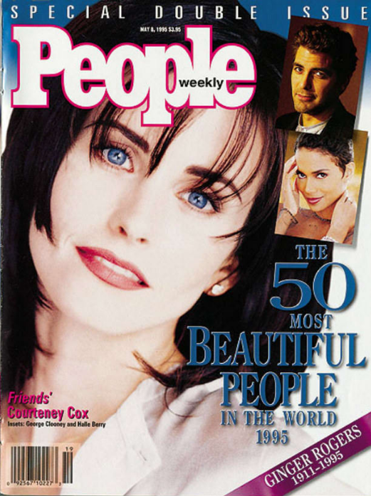 Кортни Кокс, 1993 год. Чтобы оказаться в списке People, понадобится всего три вещи. Мы не уверены, ч