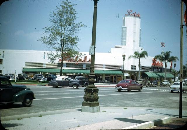 Супермаркет Ralphs, 1949 год.