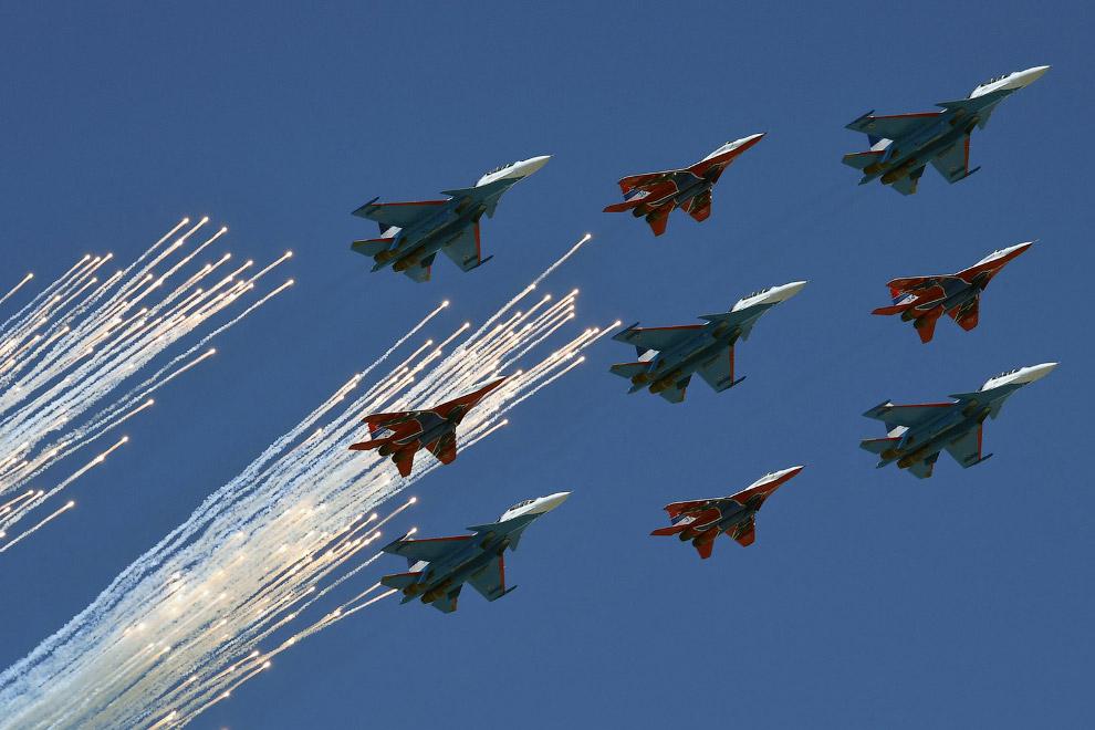 4. Как уже говорилось, в этом году в Параде Победы участвовало 114 единиц вооружения и военной
