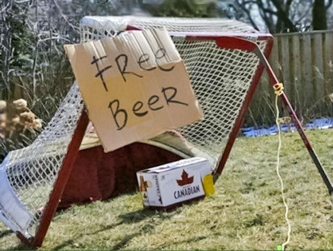 Ловушка по-канадски: «Бесплатное пиво».