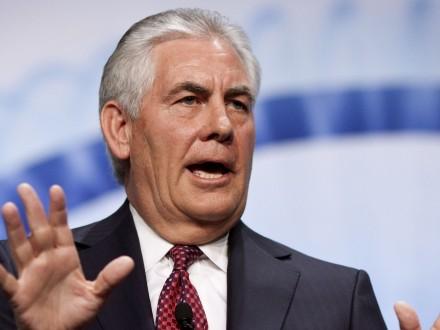 Тиллерсон неподдерживает присоединение Крыма к Российской Федерации
