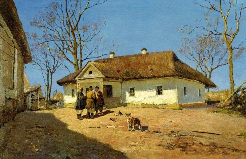 Хата (небольшой жилой дом)