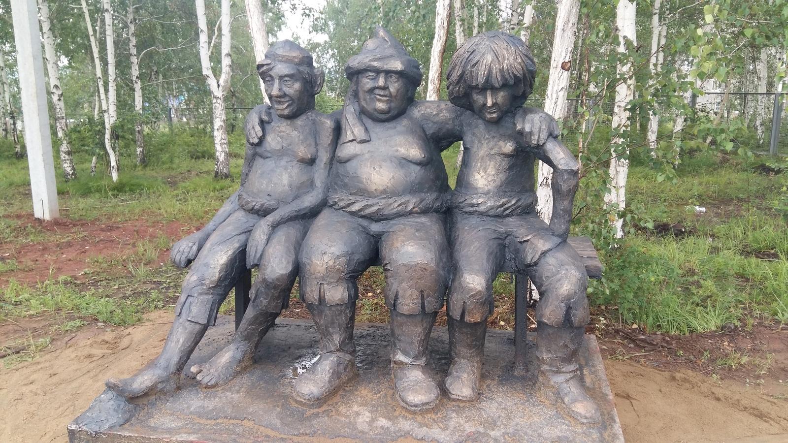 Прикольные скульптуры