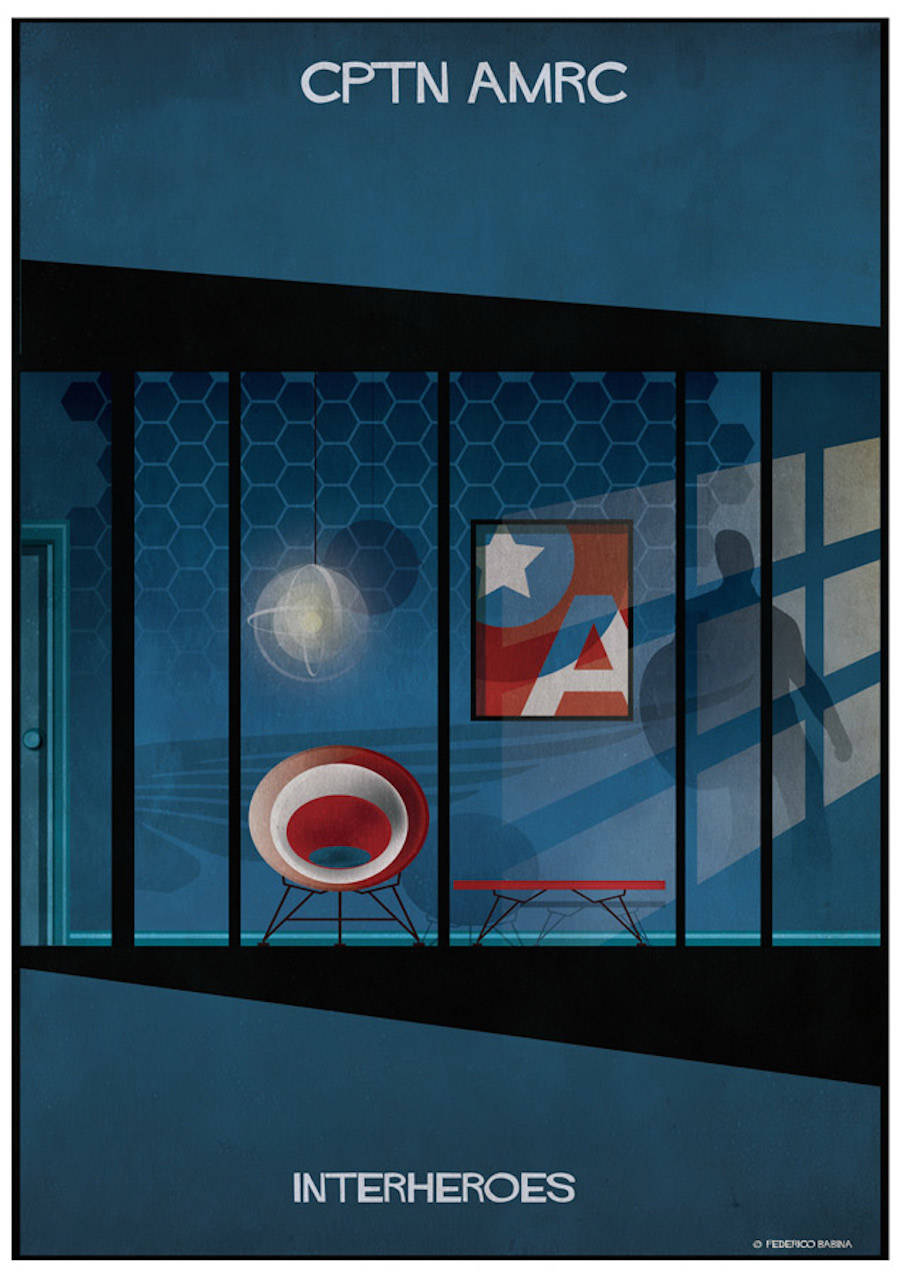 The Interiors of Superheroes