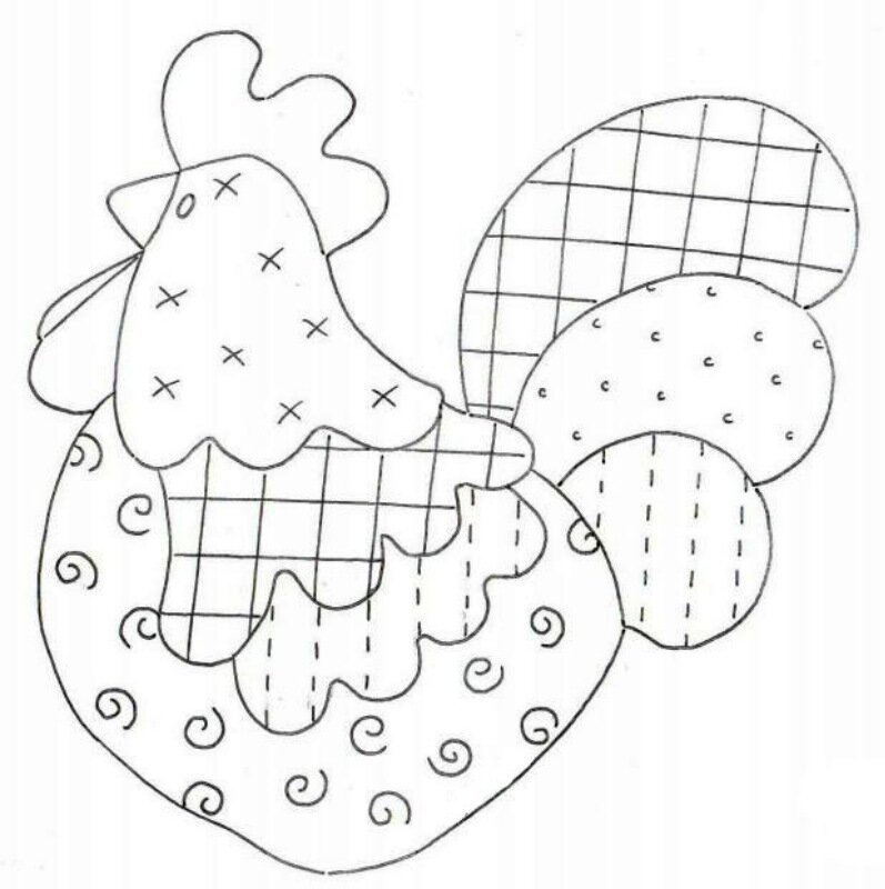 Весёлые петухи - идеи для лепки
