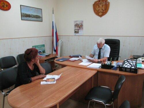 Личный прием граждан главой администрации городского округа 25.08.2016