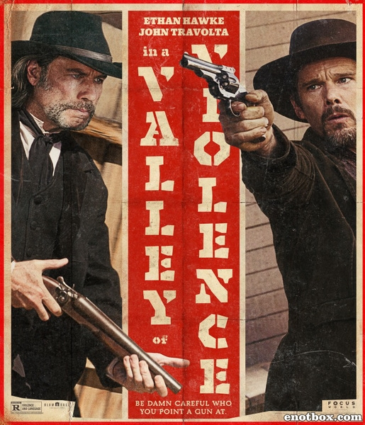 В долине насилия / In a Valley of Violence (2016/WEB-DL/WEB-DLRip)