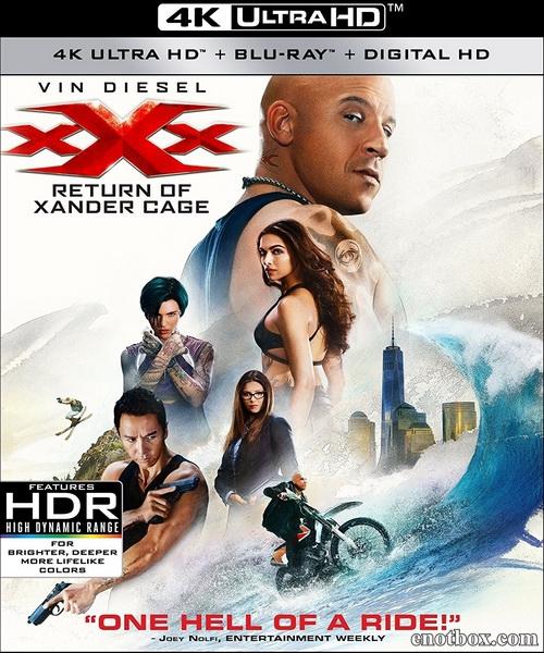 Три икса: Мировое господство / xXx: Return of Xander Cage (2017/BDRip/HDRip) + 3D