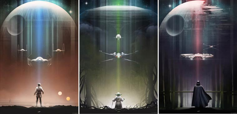 Posters Pop Culture – The beautiful illustrations by Andy Fairhurst (22 pics)