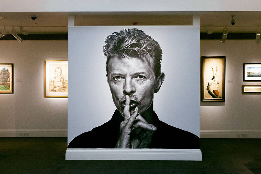 David Bowie's Art Private Collection