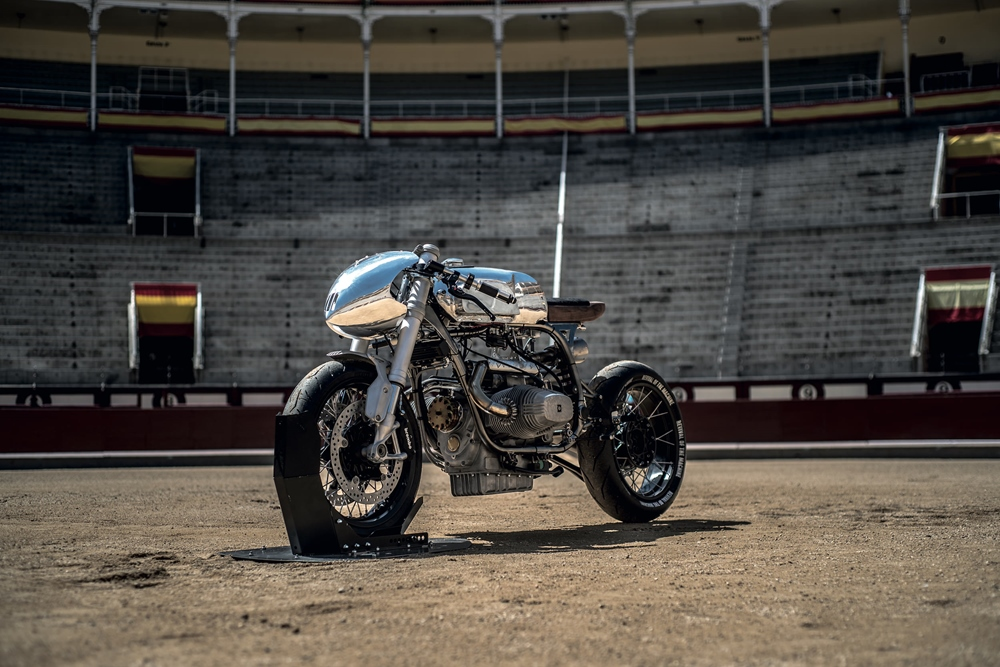 Revival of the Machine х XTR Pepo: кастом-байк BMW R100RS