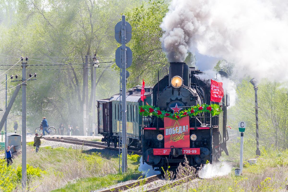 Ретро-поезд Победа фото 3