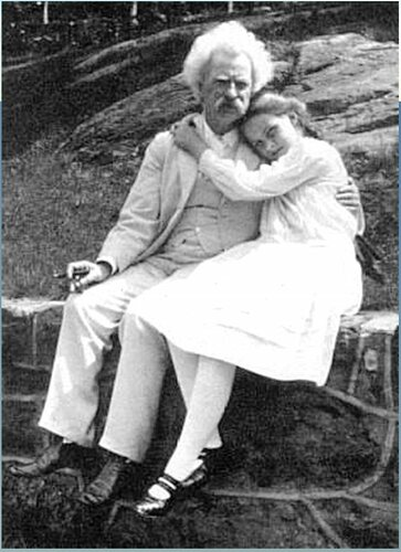 Марк Твен. Mark Twain and_Dorothy Quick.JPG