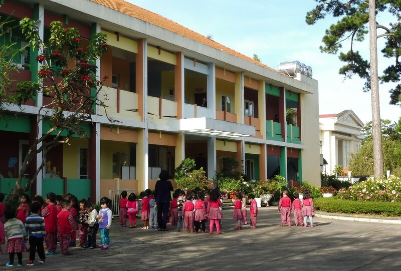 Вьетнамский детский сад