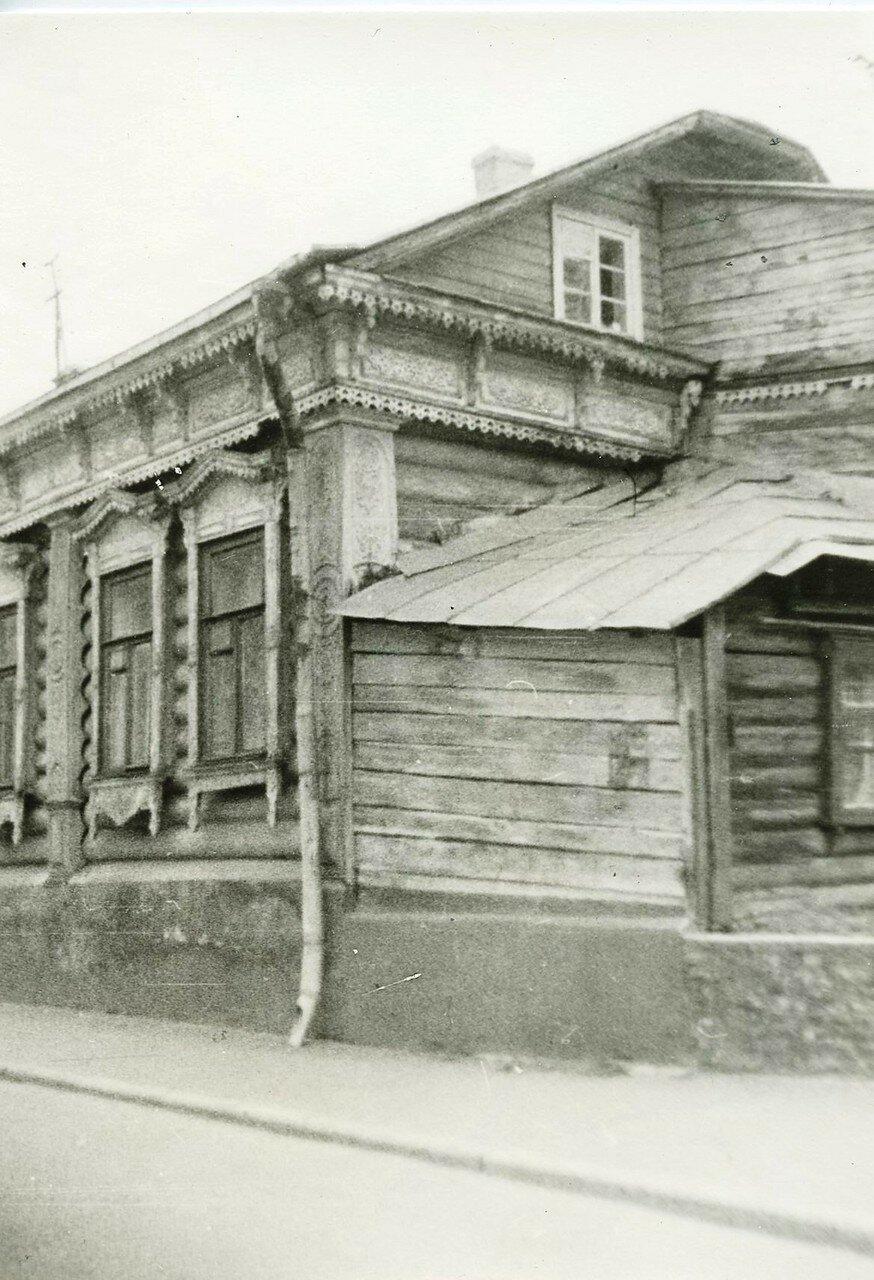 1960-е. 1-й Хвостов переулок