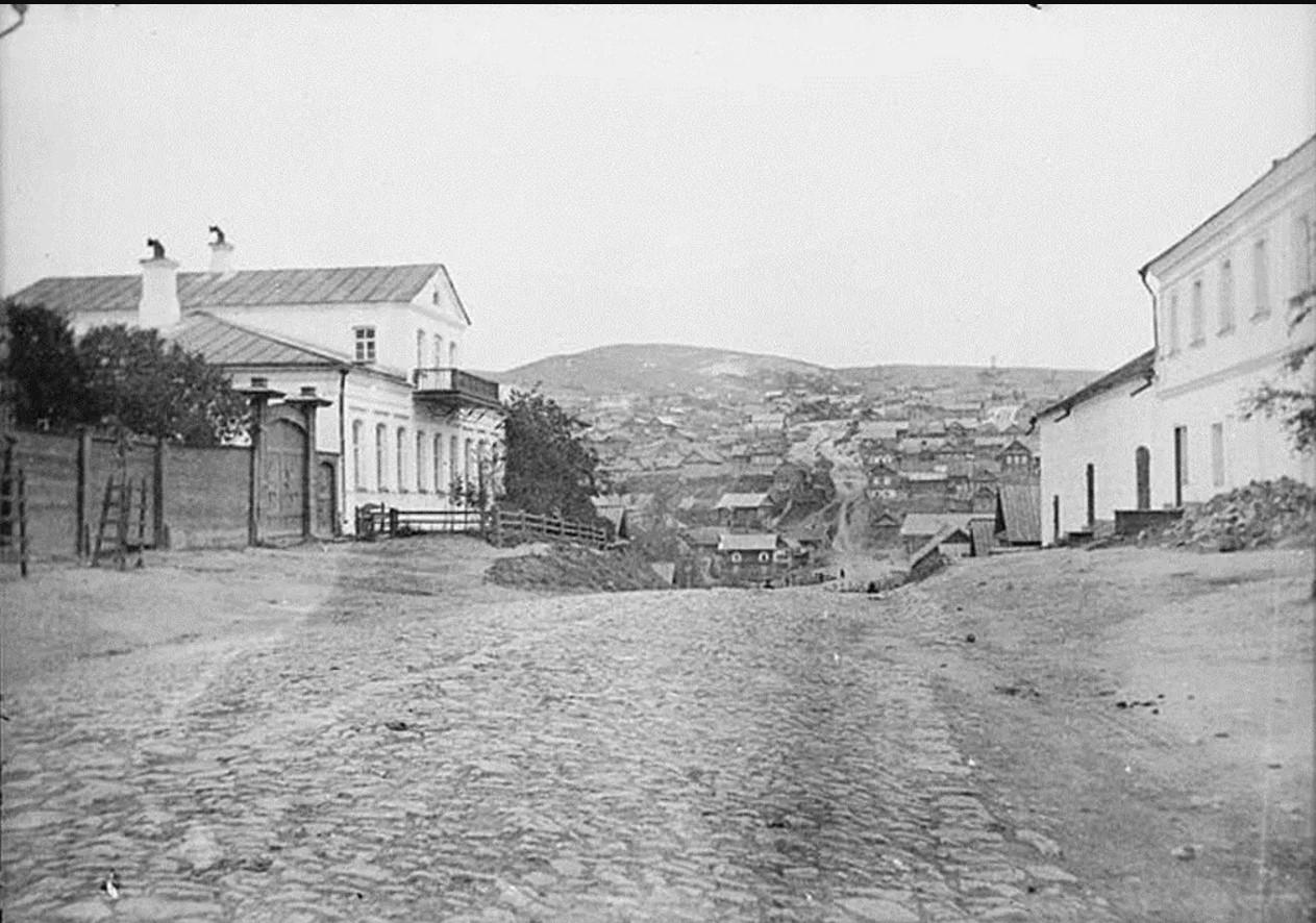 Камышинская улица, вид на Малыковку