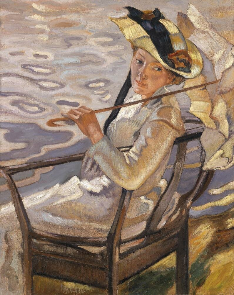 В солнечном свете IV, ок.1921 Лео Путц (1869-1940)