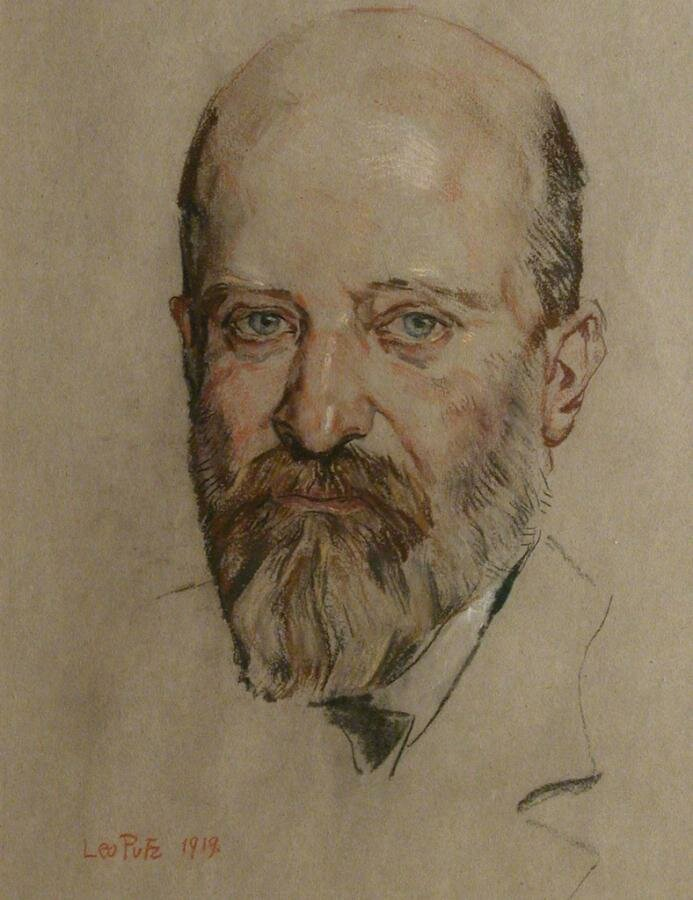 Автопортрет 1919, Лео Путц (1869-1940