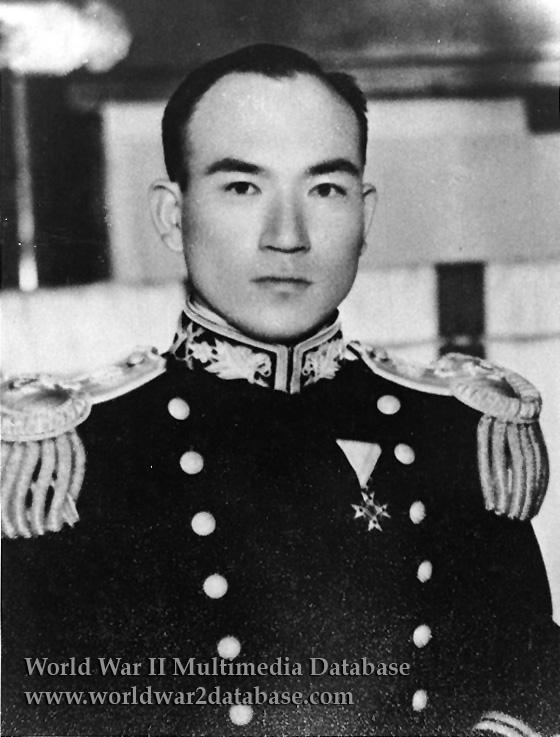 Imperial Japanese Navy Lieutenant Joichi Tomonaga