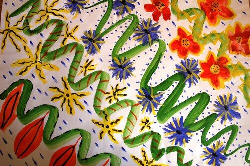 Рисунки красками, акварелью. Гузель Хаертдинова