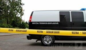 Во время строительных работ в Кишинёве обнаружен снаряд