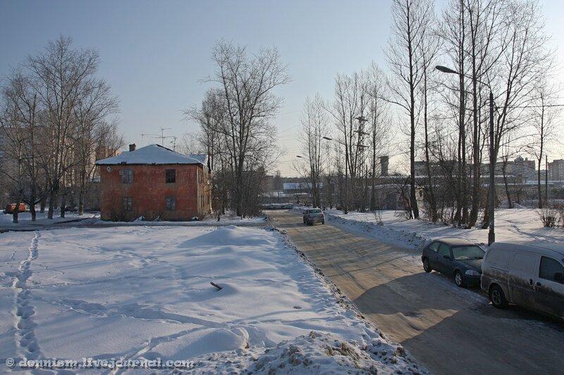 Фрязино, улица Нахимова.