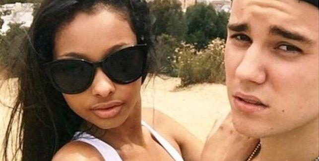 Джастин Бибер и его подружка на отдыхе
