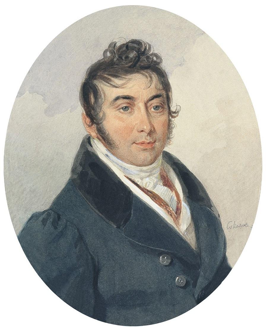 Соколов Петр Федорович  Портрет Ф.И. Бартоломея конец 1820-х.jpg
