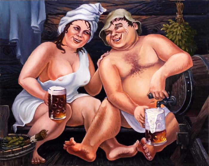 С днем пивовара! Пиво после бани