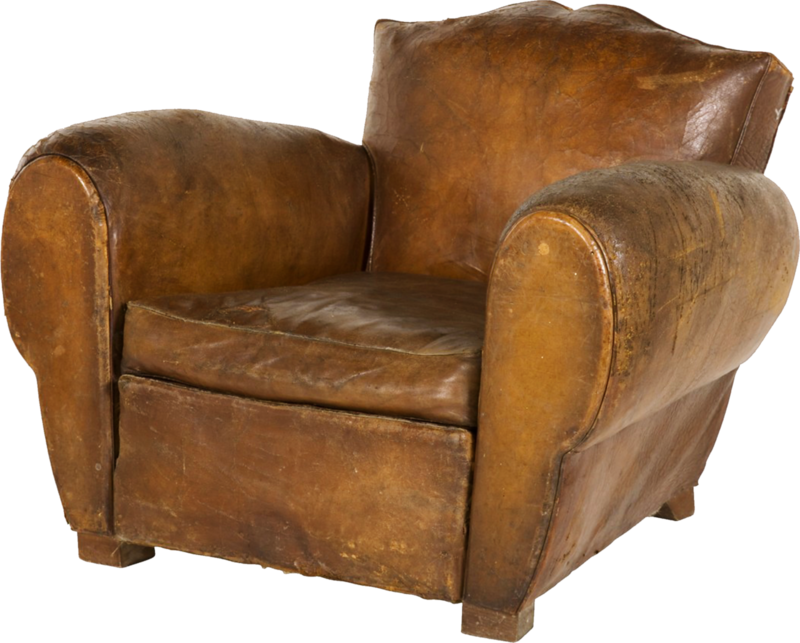 dkerkhof - libby the librarian - worn leather chair.png