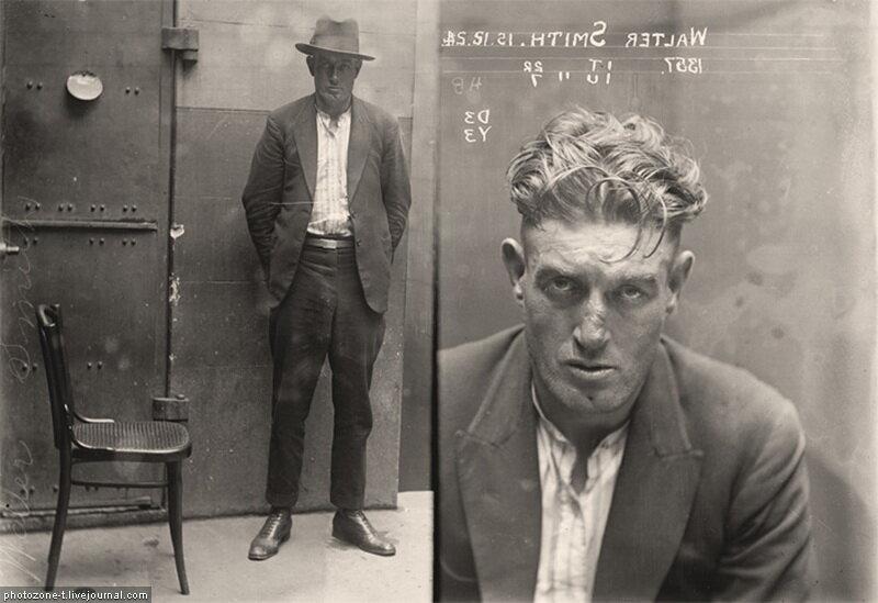 Преступники Австралии начало 20 века