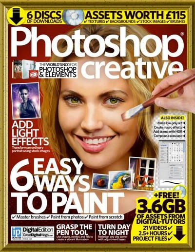 Книга Журнал: Photoshop Creative №121 (2014) [En]