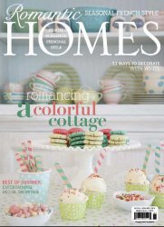 Romantic Homes Magazine - July 2014