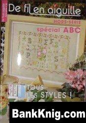 Журнал De fil en aiguille. Hors-serie special ABC № 16, 2006 pdf 8,13Мб