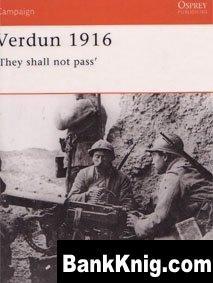 Книга Osprey Campaign №93. Verdun 1916 pdf (scan) 32Мб