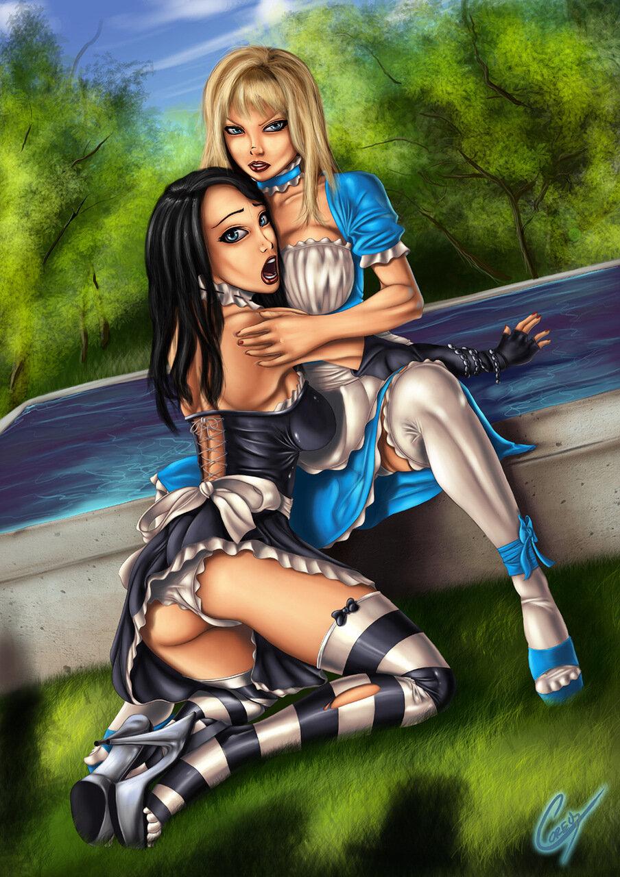 Alice fantasy art erotic porn hentai images
