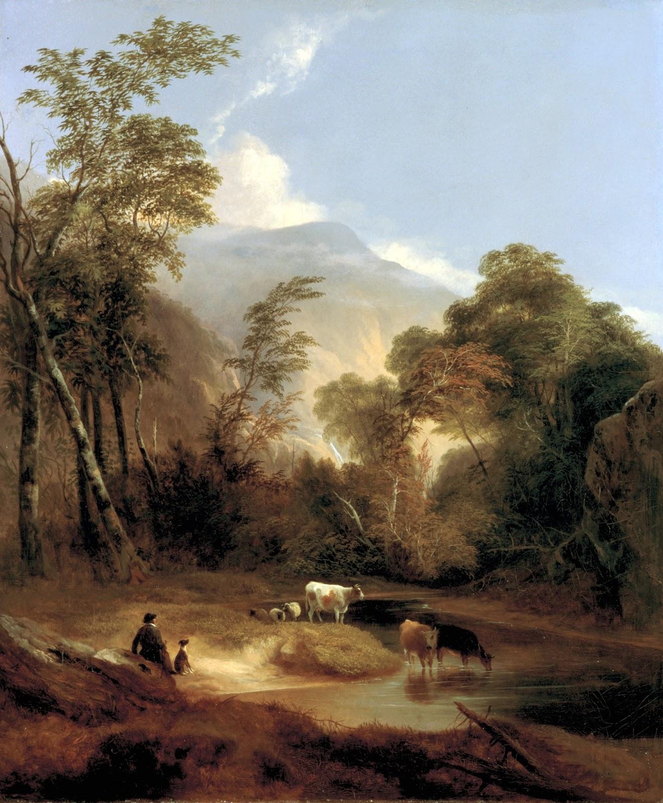 3 Pastoral_Landscape_by_Alvan_Fisher,_1854.jpg