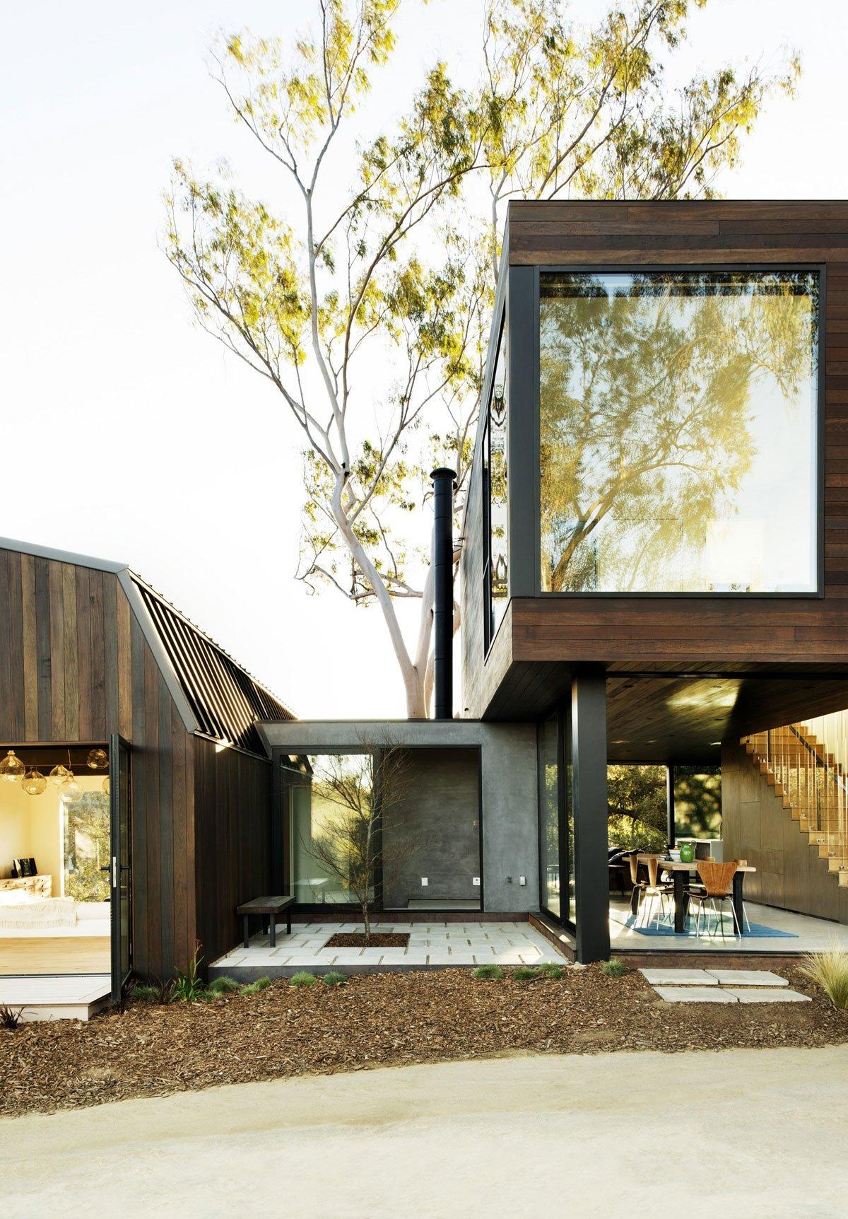 план дома, схема частного дома, резиденция OakPast Guest, Walker Workshop, дома в Беверли Хиллз, особняки беверли Хиллз, обзоры домов в Беверли Хиллз