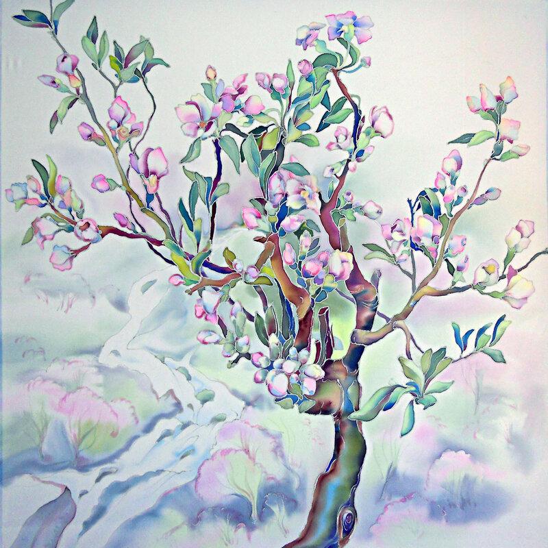 Весна, груша-цветет.