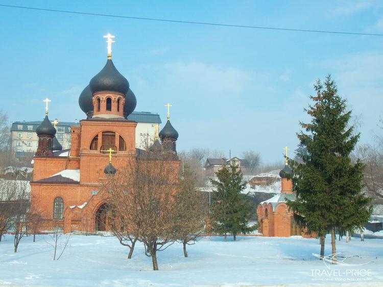 церковь с черными куполами Казань