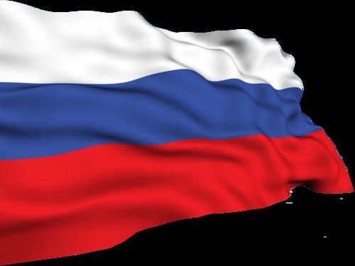 Российский флаг клипарт на прозрачном фоне